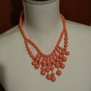 Peach Bubble Necklace